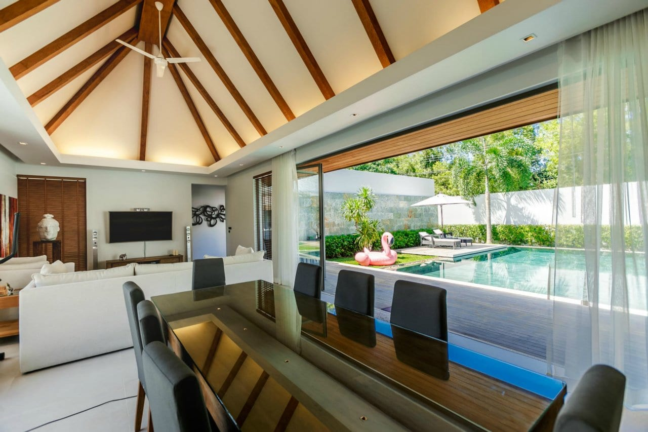 Expanded Luxury 3 Bed Private Pool Villa, Layan