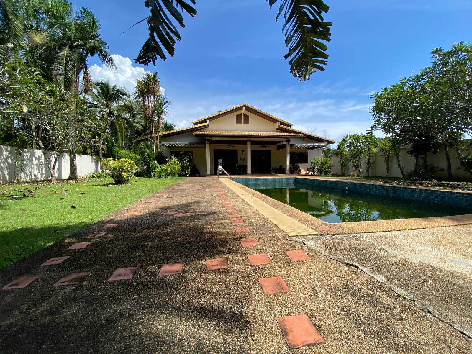 1 Rai Freehold Land and Villa For Sale