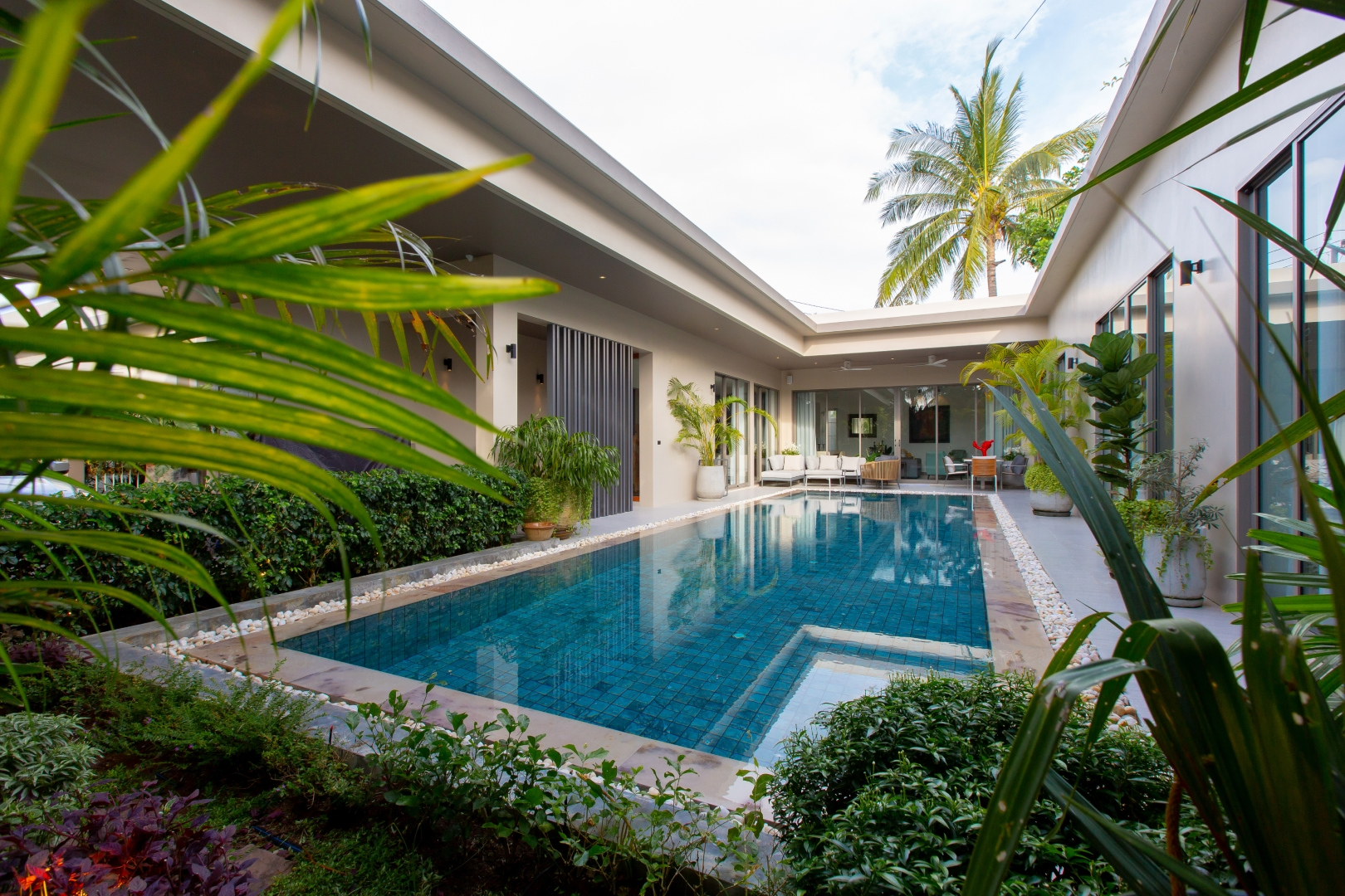 Solar Power Modern 3 Bed Family Pool Villa 31 in Layan For Sale (Non-Estate)